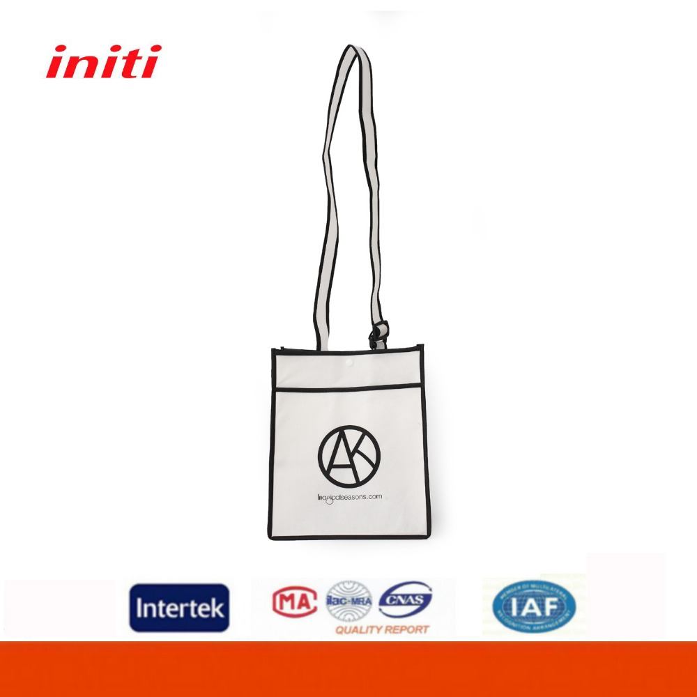 2016 Initi Promotional Cheap Reusable Folding Tote Bags