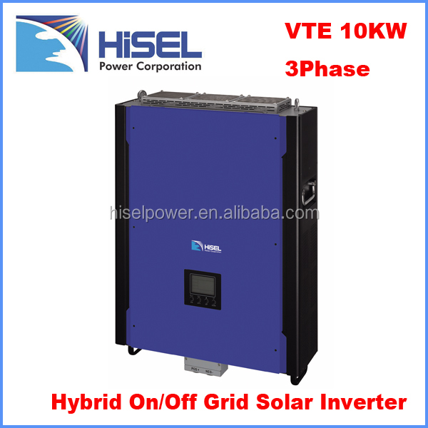 Environment friendly rechargeable solar power 10000 watt power supply 10kw inverter