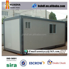 Prefabricated 20ft Modified Confortable Living Container House