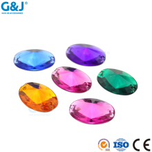 guojie brand wholesale new design various color clear acrylic stone