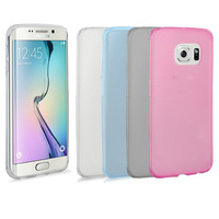 C&T Slim Soft Gel TPU Clear Cover Case for Samsung Galaxy S6 Edge Smart Phone