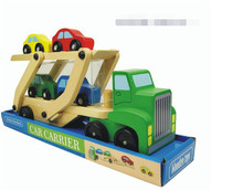 FQ brand baby arts and craft car wooden toy vehicles