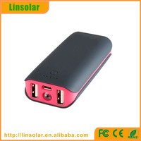 hot sale motion battery charger, 4400mah dual usb rechargeable portable battery charger