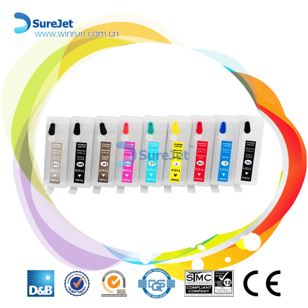 Factroy for sale ciss empty ink cartridge for epson SC-P600