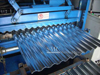 Galvanized Roofing Sheet, Corrugated Sheet Metal Roofing (heat resistant)