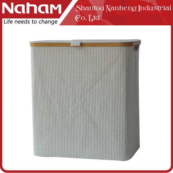 NAHAM household custom foldable laundry basket for hotel