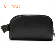 WHOLESALE BLANK PU LARGE CAPACITY WATERPROOF ZIPPER PORTABL COSMETIC BAG MAKEUP BAG HANDBAG SUPPLIER