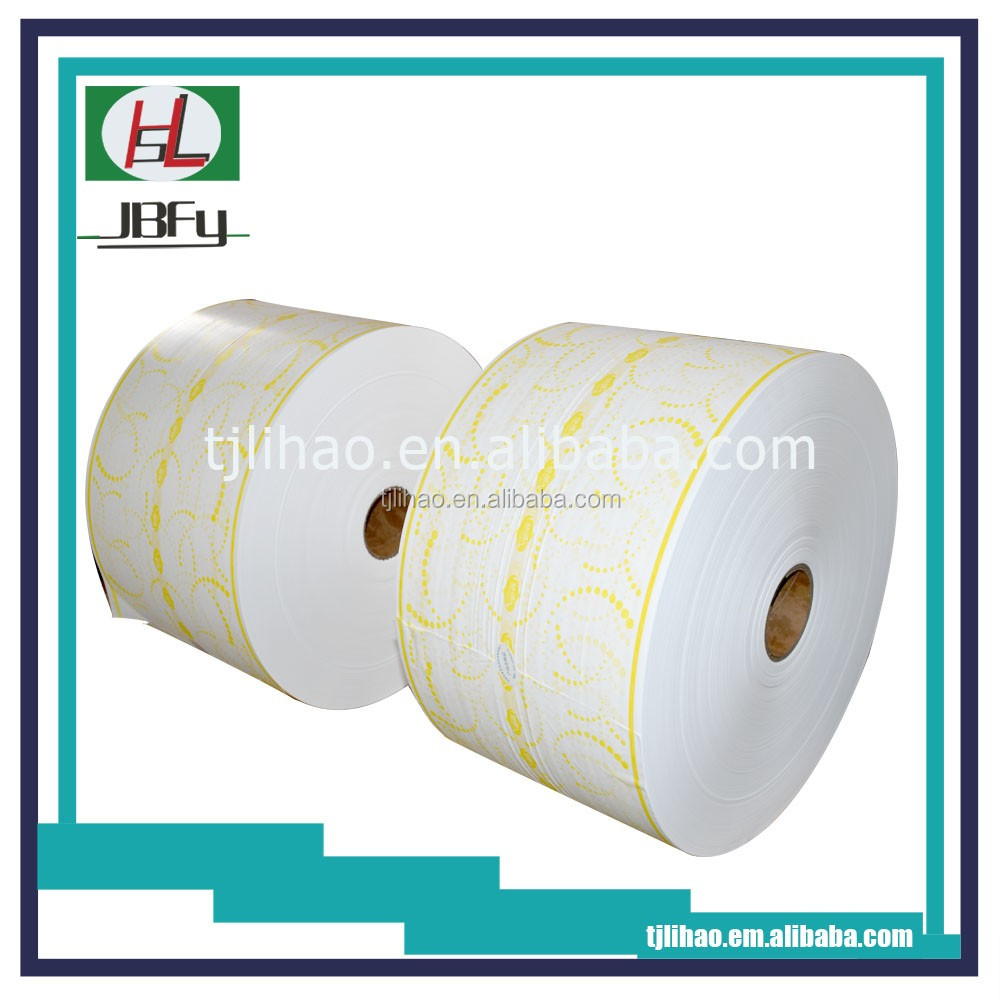 White and colorfull PE film breathable PE film for baby diaper