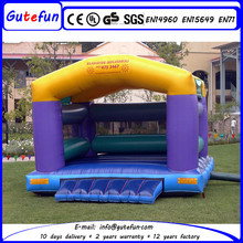 GUTEFUN 2015 new design the most safe fire truck inflatable bounce house