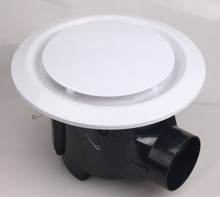 Electric Bathroom Ceiling Exhaust/Ventilation Fan 10inch with High Airflow Lower Noise
