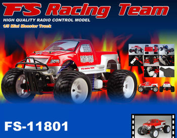 FS-11801 1/5 Scale 4WD Gas Monster Truck (King Kong)