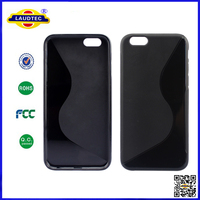 S Line Silicon Gel TPU Back Cover Case for Apple iPhone 6, Laudtec