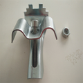 Platform steel grating stainless steel saddle clamp