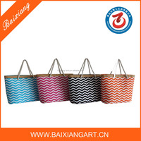 Wholesale Tote Straw Beach Bag