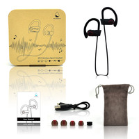 Latest Bluetooth 4.1 technology Waterproof Earphones with Volume Control--RU9