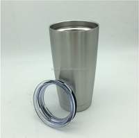Hot sale products for 2016 20oz 30oz 304 stainless steel cup double layer travel cup without handle