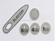 USB flash driver label,aluminum sticker for USB or other computer plug-in