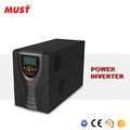 MUST Pure sine wave 12V 24V power inverter 800W with AC charger