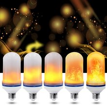 2019 decoration E27 E26 LED Flame Effect Light <strong>Bulb</strong>, LED Flickering Flame Lamp, fire lights LED flicking lamp