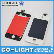 mobile phone lcd for iphone 4s, for iphone 4s lcd touch screen+ display assembly