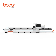 Jinan Bodor high accuracy stainless steel metal tube laser cutter cnc tube laser cutting machine with CE