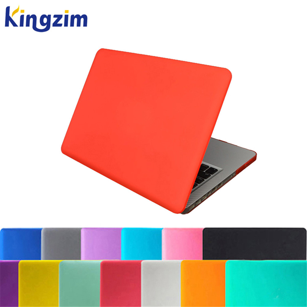 Rubberized laptap case for Macbook pro 13 15 With Touch Bar