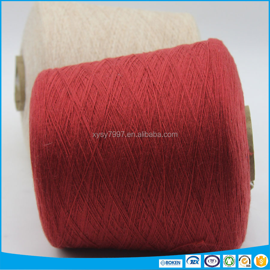 angora/nylon/wool/rayon blended yarn