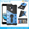 Wholesale TPU PC Shockproof Kickstand Back Cover Hybrid Phone Case For Huawei Honor 5C