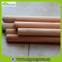 natural round wooden craft sticks poles