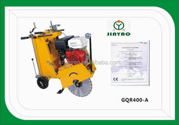 "CONCRETE CUTTER ,Floor saw with cutting blade 16"" GQR400-A"