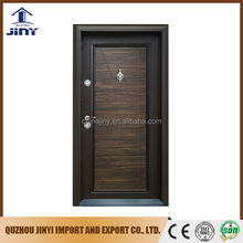 cheap metal door used metal exterior security main steel-wood door prices