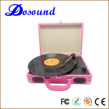 suitcase turntable LP usb portable music record player