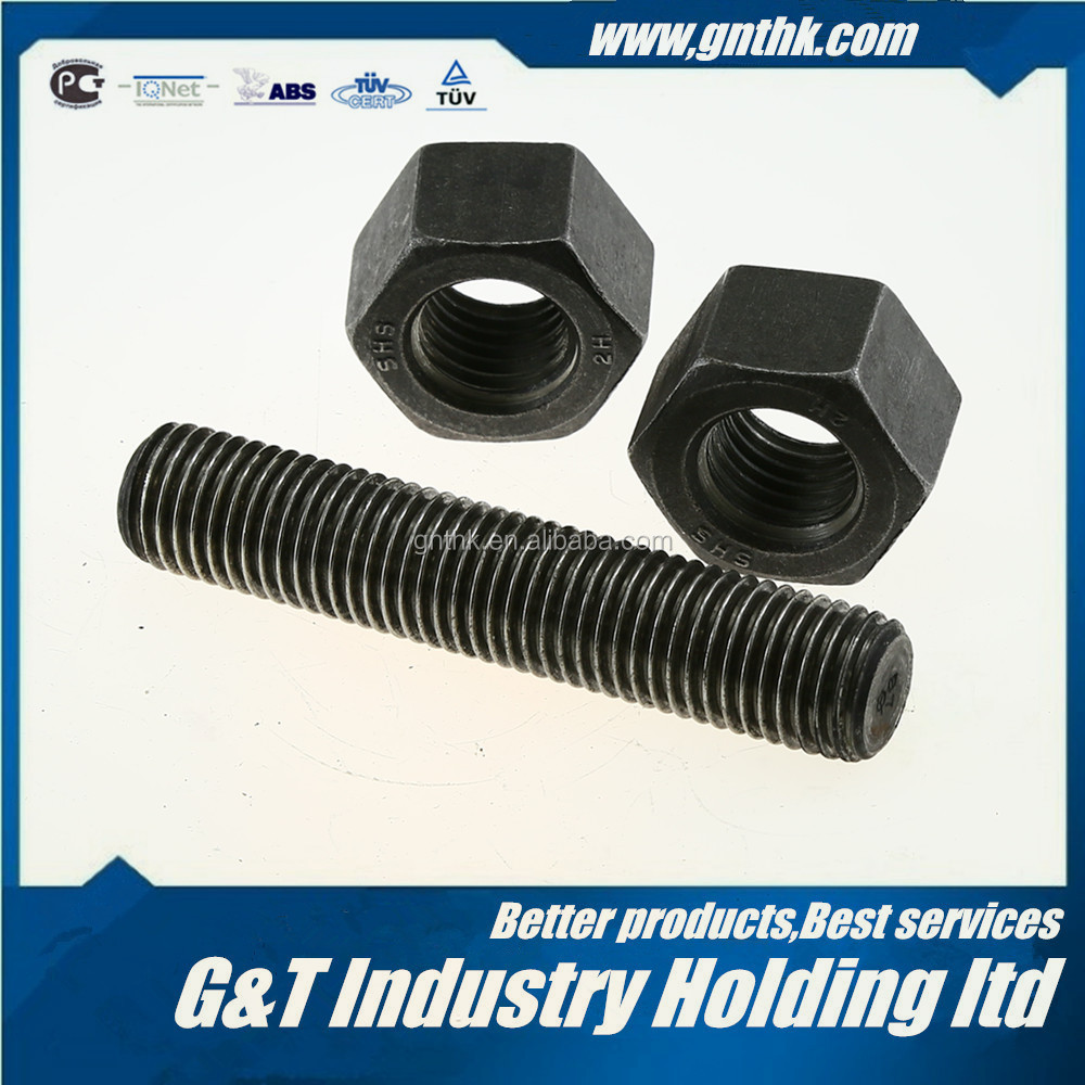 "STUD BOLT 2-1/2*LENGTH(from 25mm-10000mm or 1""-32FT) ASTM A193 B7 PLAIN FULL THREADED"