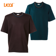 Mens Plain Short Sleeve Pull Neck T Shirts For Men