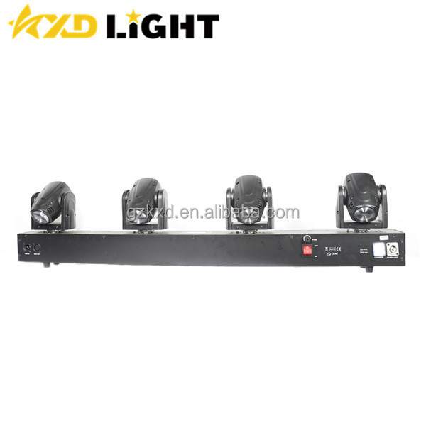 4*10W RGBW 4-in-1 Quad LED Beam Moving Head Sweeper Bar Wash/Stage/DMX DJ Lights