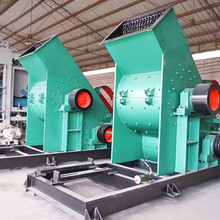 XKJ single stage cast sand reversible hammer crusher for iron ore