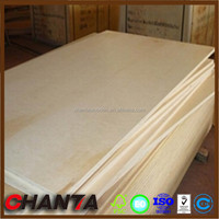 Poplar Main Material and 3-Ply Boards Plywood Type 3mm thickness plywood