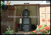 150kg/hr natural gas medical waste incinerator