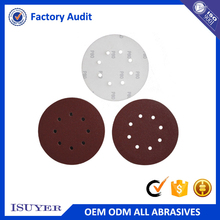 Cheap Customized Logo Grit 40 to 1000 Backed Abrasive Disc for Polishing in Wood Processing