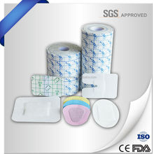PU film wound dressing with pad