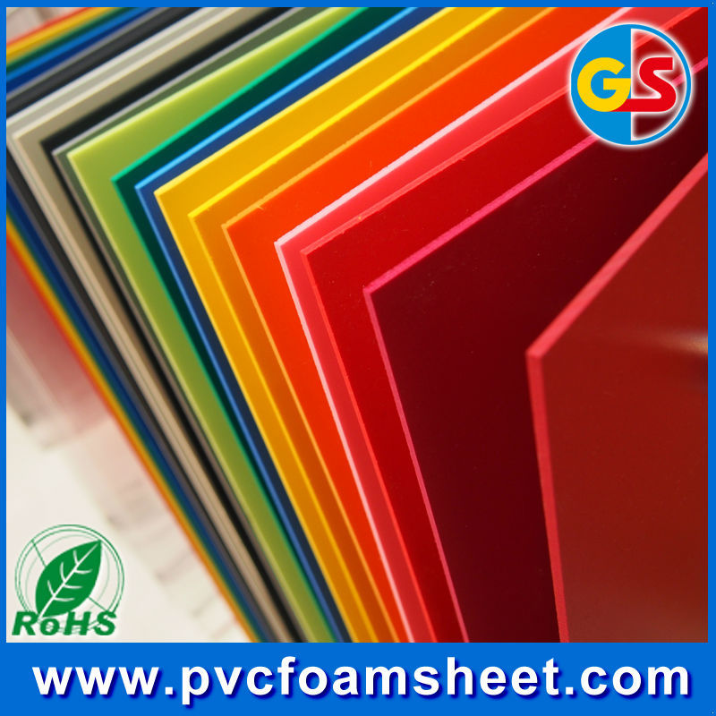 fire retardant pvc foam insulation board