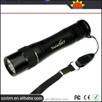 TANK007 TK-568 5-mode with Press Switch Best LED Tactical Flashlight