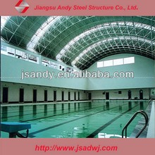 Construction Building for Steel Space Frame Roof Swimming Pool