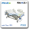 P302 3 Big ABS Handrail height adjustable 3 functions electric hospital bed