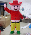 Hola pig mascot costume for adult/Carnival costumes/custom mascot costume