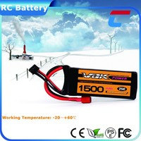 11.1V 25C 1500mAh Mini Toy RC Helicopter Battery