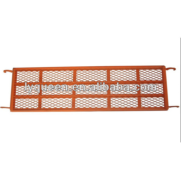 1800*400mm Welding Mesh gavlanzied steel plank with painting finish