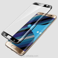 Factory Price Scratch Proof Heat-bending Phone Screen Protector for Samsung Note7