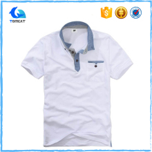 OEM Custom New Design Cotton Fitted Polo T Shirts For Men Wholesale