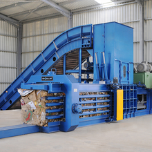 horizontal waste paper baler machine HPM-125